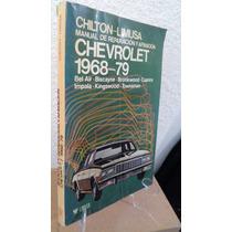 Chevrolet 1968 79 Manual De Reparacion Y Afinacion Limusa