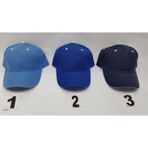 Gorras Acrilica Unicolor Tipo Sandwich Jagi Mayor 6pz