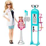 Barbie Quiero Ser Oftalmologa De Mattel.