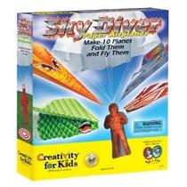 Creatividad Para Niños Sky Diver Paper Airplanes
