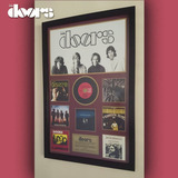 Cuadro The Doors Discografia Disco Cd Estilo Vinilo