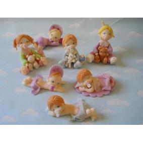 Souvenirs Bebes En Porcelana Fria Nacimiento Bautismo 10