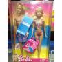 Barbie Y Ken Juntos Listos Para La Playa Original Matel