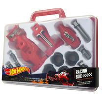 Auto Carrera Hot Wheels P/armar 18 Piezas Racing Box Hw225