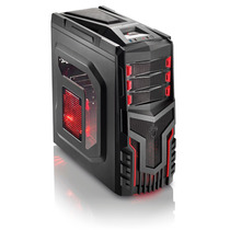Gabinete Gamer Warrior Ga124 Usb 3.0 (3 Coolers Inclusos)