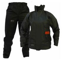 Capa De Chuva Para Motoqueiro Blusa E Calça Pvc Impermeavel