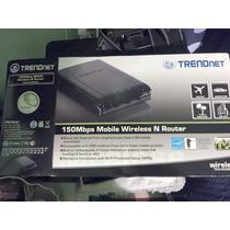 Trendnet Mobile Wireless Routher. Comparte Internet Portatil