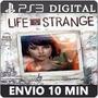 Life Is Strange Temporada Completa Psn Ps3 Melhor Preço