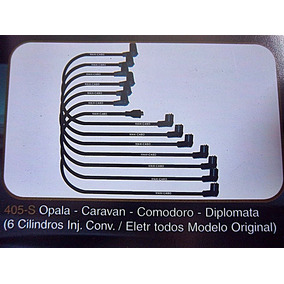 Cabos Velas Opala/diplomata/caravan/comodoro 6cc