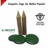 Conjunto Jogo De Malha Popular Neofit + Nf Monumento Sports