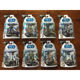 Set 2 Figuras Star Wars The Clone Wars First Day Issue 2008