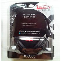 Audifonos Yoobao Mod:yb-550k Max Con Microfono.