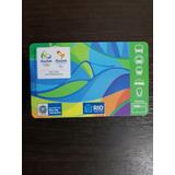 Tarjeta Bus Colección Juegos Olímpicos Río Janeiro 2016