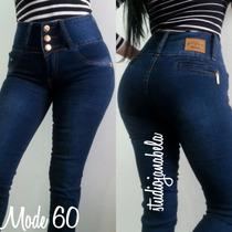 Jeans Pantalon De Dama Studio F Nuevos Strech Bota Tubo Negr
