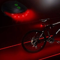 Luz Led Para Bicicleta Doble Linea