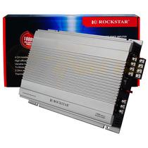 Amplificador 1800 W Y 4ch Linea Rockstar By Audiobahn Xaris.