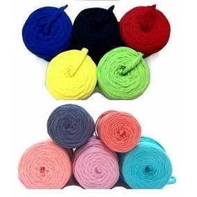 Trapillo Hermosos Colores Para Collar Bisuteria Lote 25 Mts