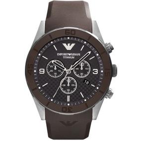 Relógio Emporio Armani Ar9501 Titanium Original Garantia 12x