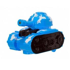 Carro Brinquedo Infantil Tanque De Guerra C Luz Projetor