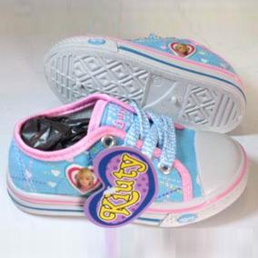 Zapatos Deportivos Kiuty Celeste Tipo Convers 6d