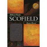 Biblia Scofield De Estudio - Tamaño Personal - Chocolate