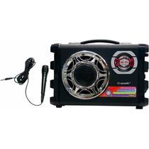 Caixa De Som Speaker Ecopower Ep-2190 Sd Usb Fm Pequeno