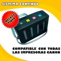 Sistema Continuo Canon,2700,2810,2410,230,250,280 Y Mas