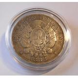 Argentina 1 Peso 1882 Patacon De Plata 24.9 Gs - 2 Separado