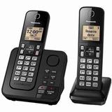 Telefone Sem Fio Com 1 Ramal,secretária E Bina Panasonic