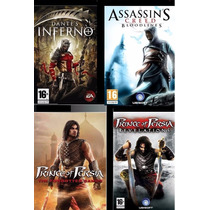 Dante´s Inferno+prince Of Pérsia+assassins Creed Para Psp