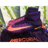 Tacos Futbol Nike Mercurial Vapor Superfly Cr7 100%original