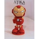 Iron Man - Porcelana Fría - Adorno De Torta - Avengers