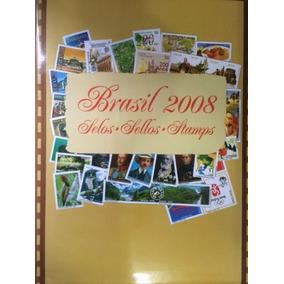 2008 - Coleção Anual Selos Correios Brasil - Frete Grátis