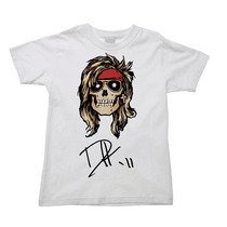 Camiseta Infantil Axl Rose Guns N