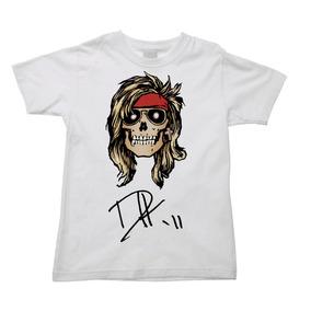 Camiseta Infantil Axl Rose Guns N