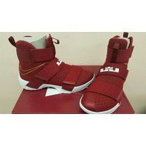 Nba Nike Tenis Lebron James Soldier 10 Soldier X Originales