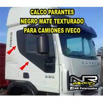 Iveco Tector Cursor Stralis - Kit Calcos Negro Mate Rugoso