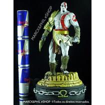 Estatua God Of War Ps3 E Ps4 - Resina - 44 Cm !!!ótimo Preço