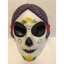 Máscara Catrina Disfraz Halloween Dia De Muertos