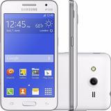 Samsung G355 Galaxy Core 2 Duos 3g Wifi 5mp Branco I Novo