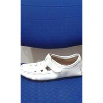 Santeria, Zapatos En Piel Colombiano Blanco 36