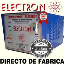 Elevadores De Tension 10kw Automatico 140v Real Envio Gratis