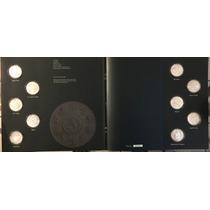 Monedas Animales En Peligro Extinción Plata Con Album