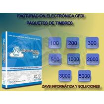 Paq. 1000 Folios Fiscales Facturacion Mybusiness Pos