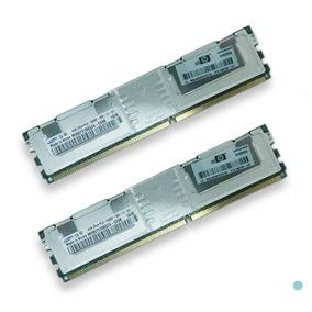 Memoria Ram Hp Dell Servidor 16gb (2x8gb)pc2-5300 Ddr2 Sdram