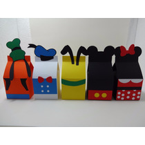 Kit Festa Infantil Mickey Minie E Sua Turma-caixa Milk Scrap