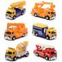 Miniaturas Caminhões De Serviço Kit Com 6 Modelos Diferentes