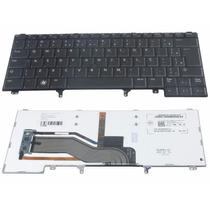 Teclado Dell Latitude E6420 E6440 E5420 Original Iluminado