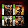 Gears Of War 1 2 3 Judgment Xbox 360 Ntsc