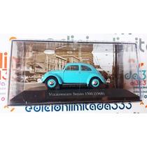 El333 1:43 Vw Vocho Volkswagen Sedan 1968 Autos Memorables